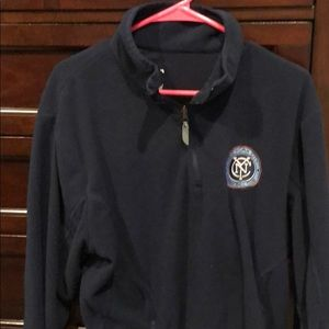 NYCFC quarter zip